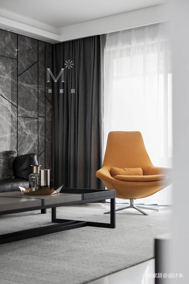 明亮61平现代二居客厅实景图片