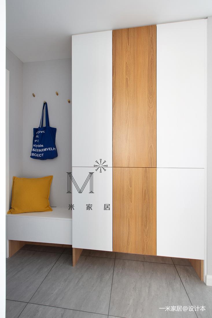 简洁83平现代二居装潢图