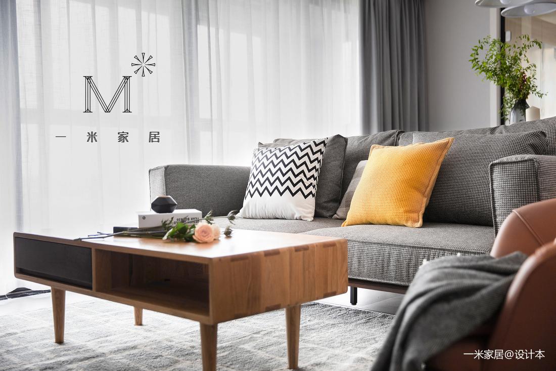 华丽71平现代二居客厅装饰图片