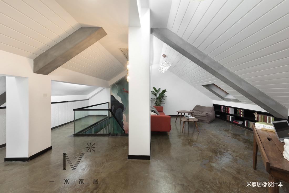 浪漫51平北欧复式客厅设计图