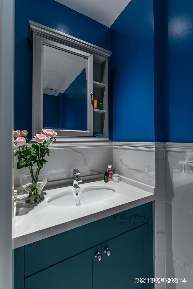 美图美式二居卫浴设计图