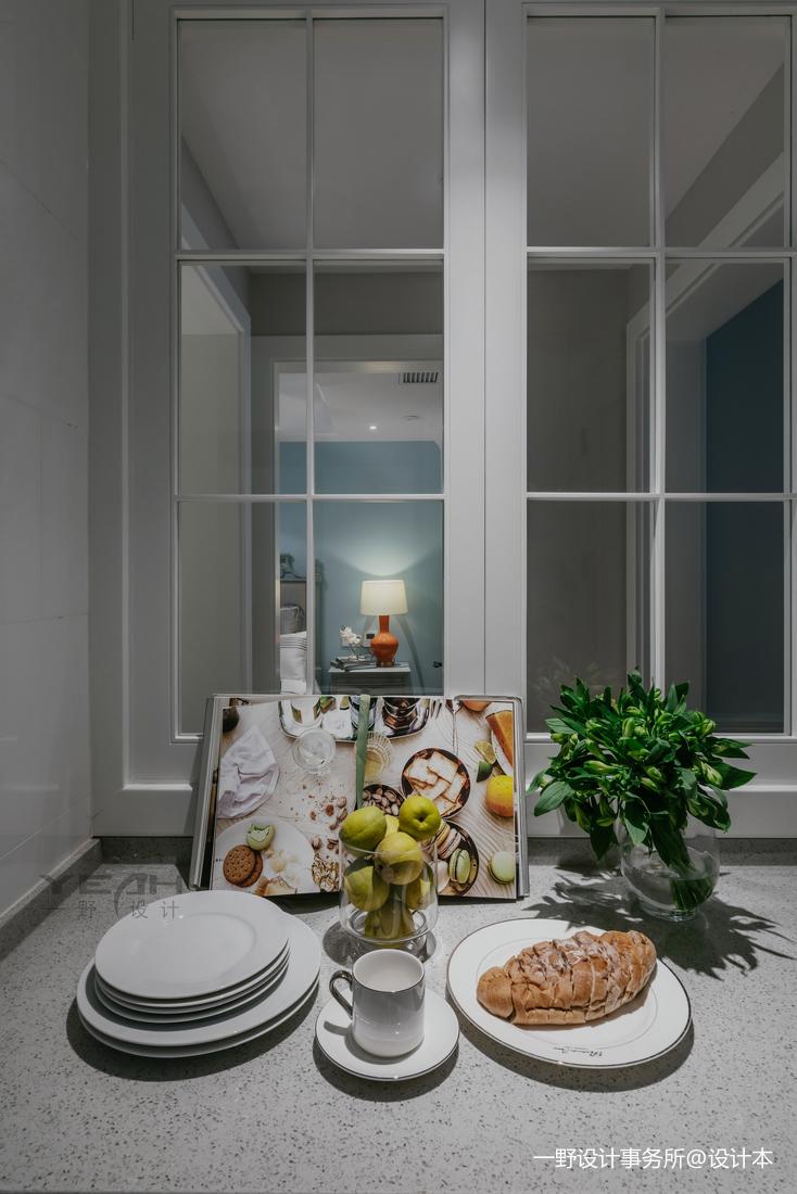 温馨85平美式二居卧室实景图片