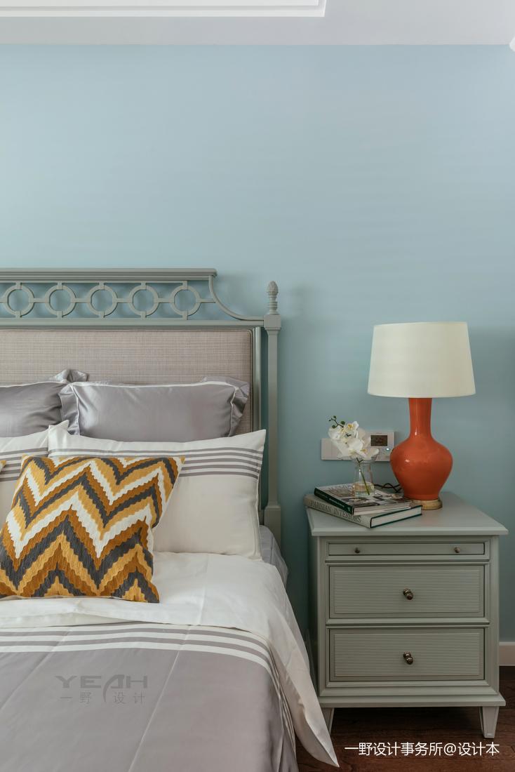 精美88平美式二居卧室装修美图
