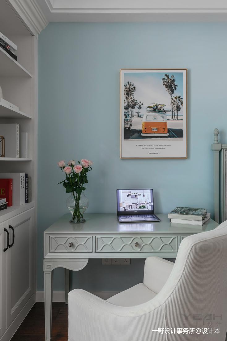 明亮83平美式二居卧室实拍图