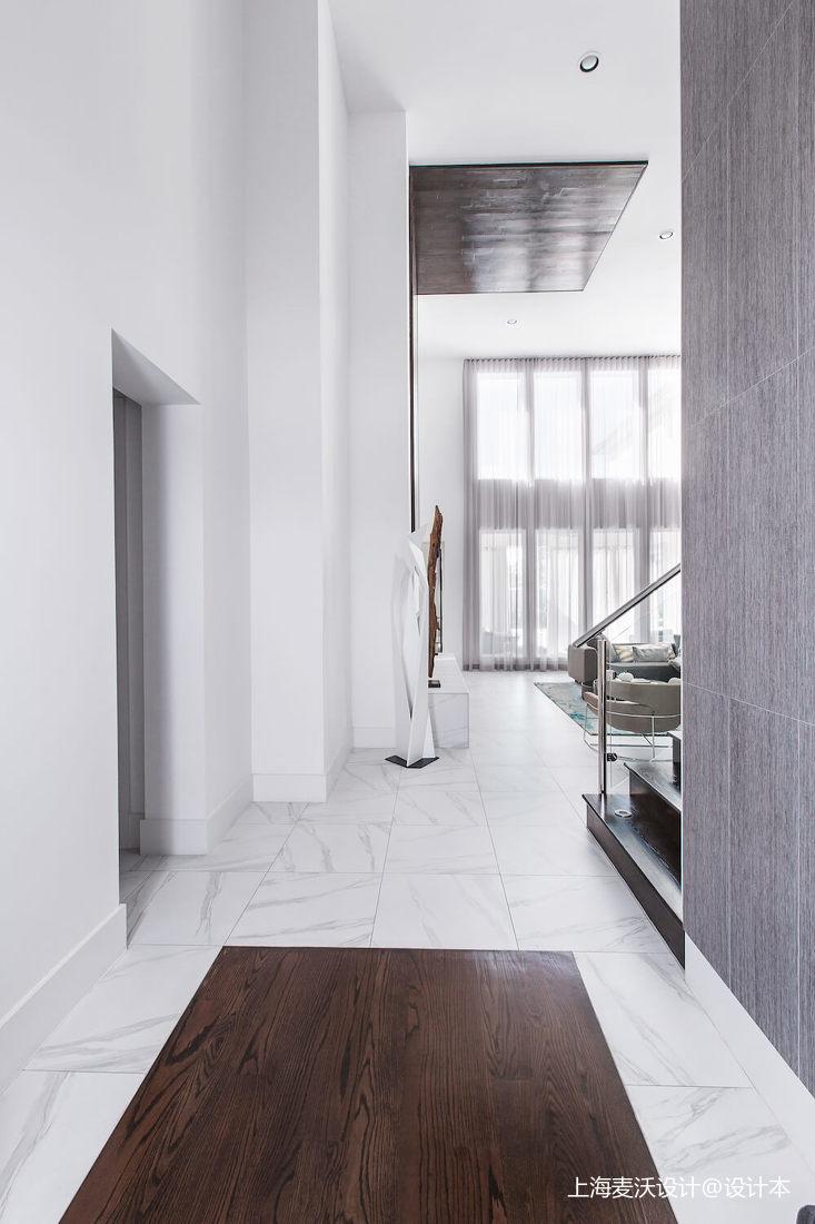 悠雅138平北欧复式客厅设计效果图