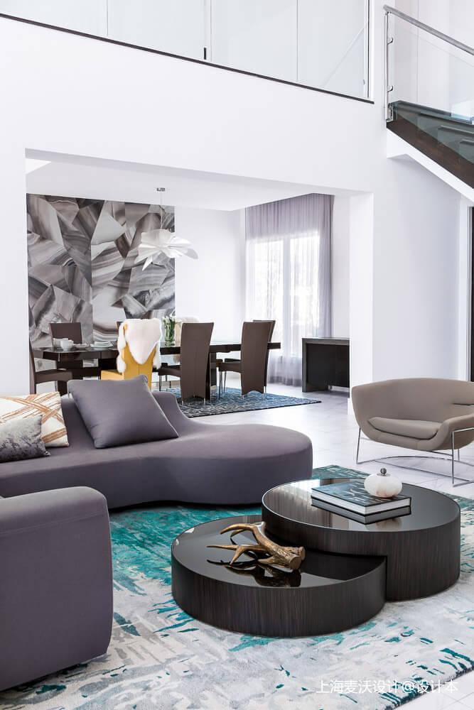 201959平北欧复式客厅实拍图