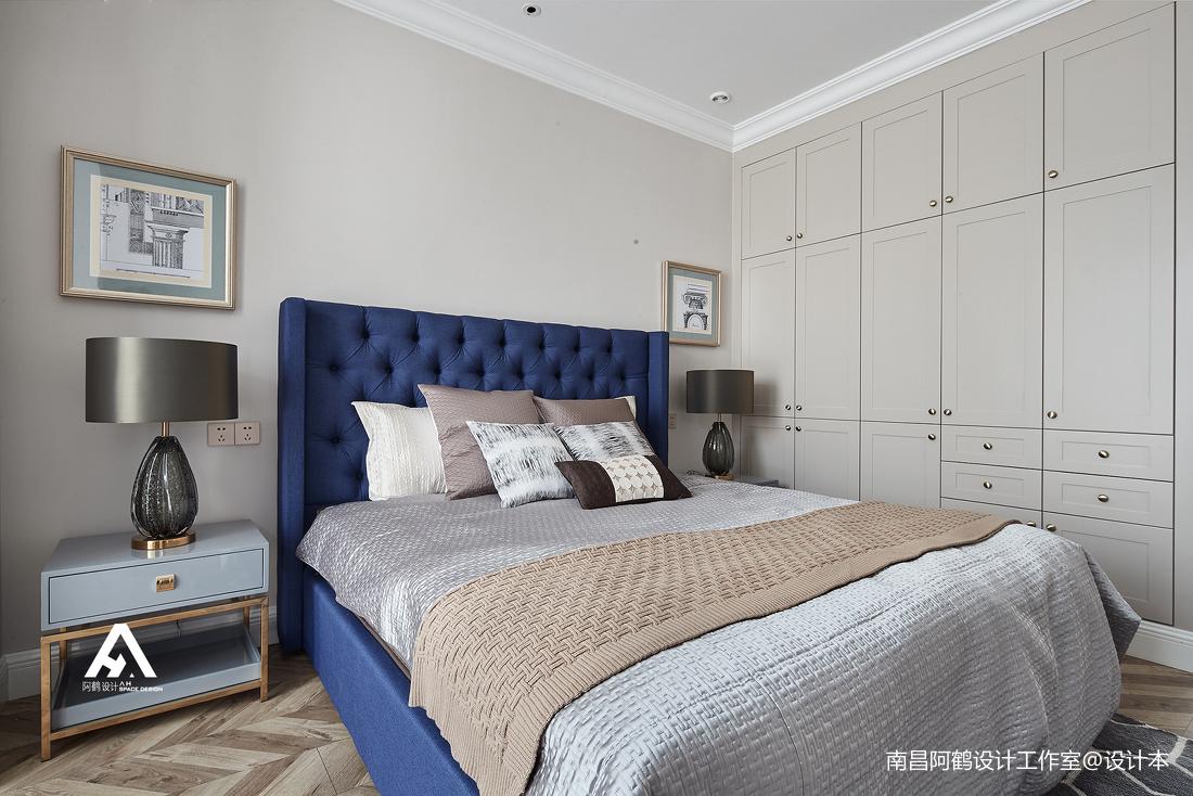 悠雅77平混搭复式卧室装修案例