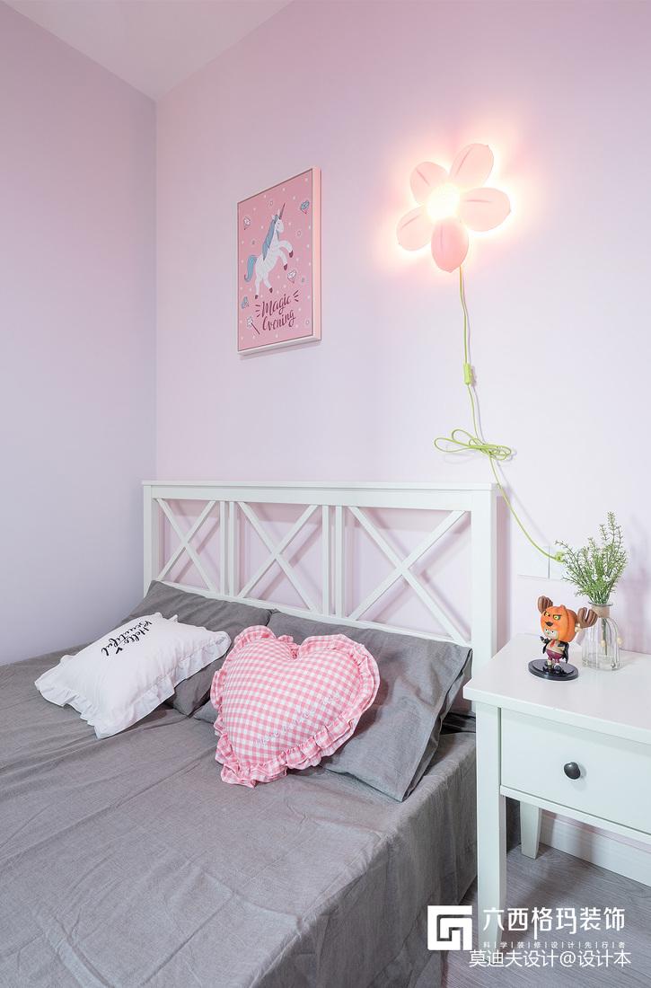 《拾趣》三居住宅北欧风格儿童房装饰设计图