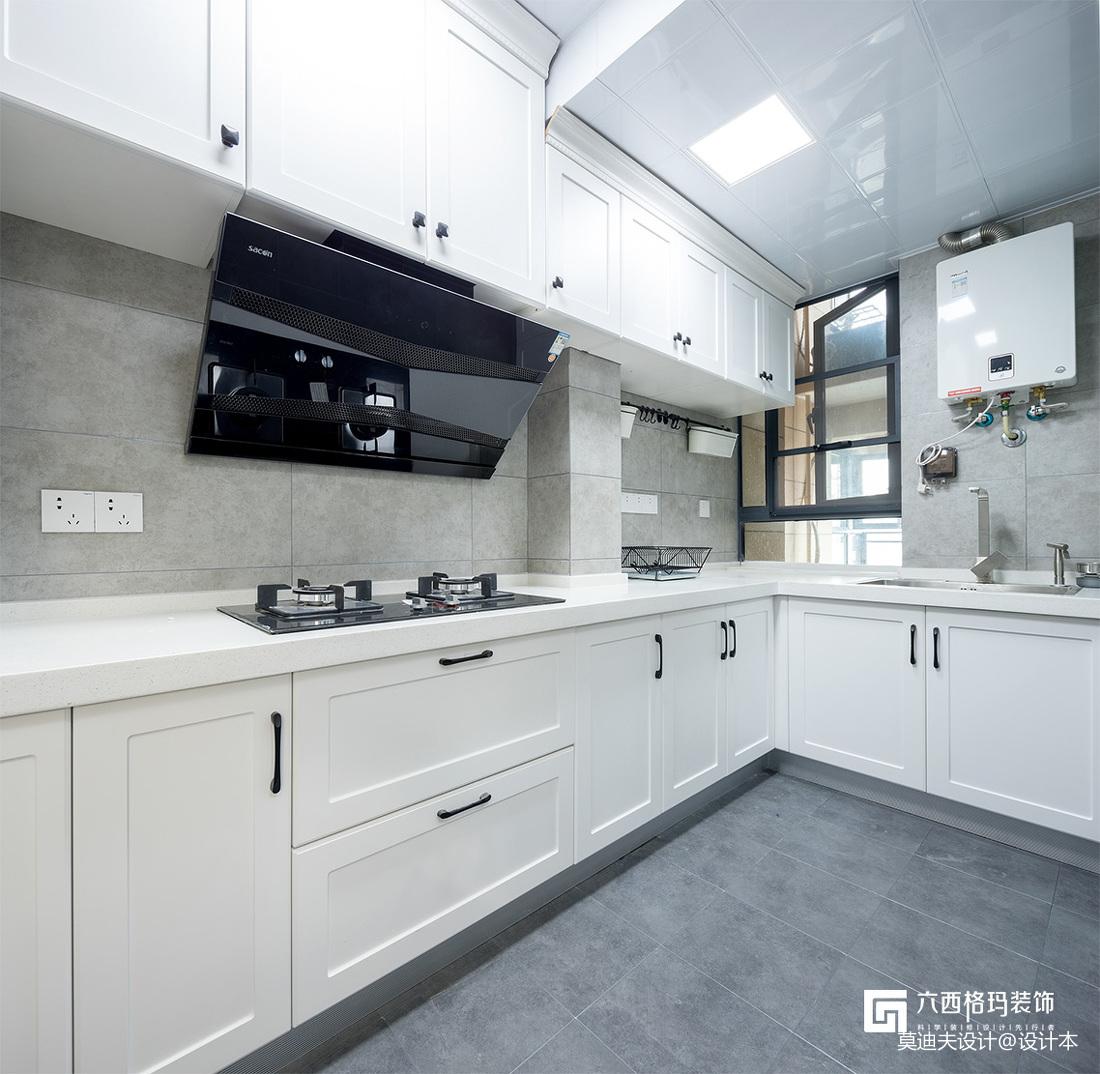 《拾趣》三居住宅北欧风格厨房装饰设计图