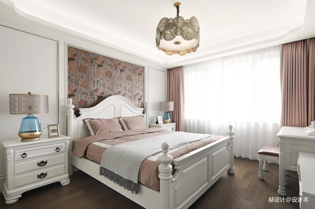 大气83平美式三居卧室设计美图