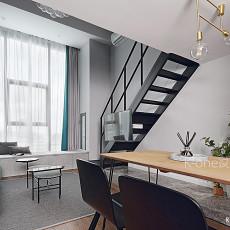 温馨33平现代小户型客厅装修图