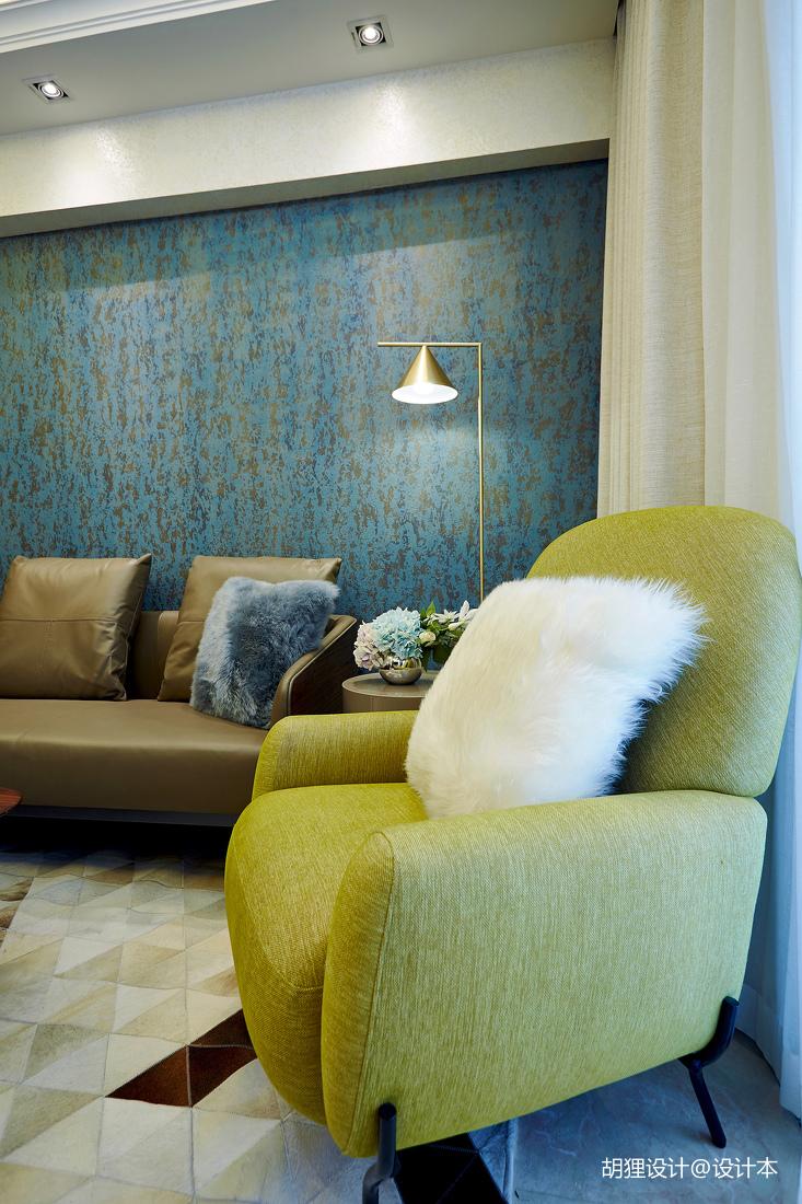 質樸32平現代小戶型客廳布置圖