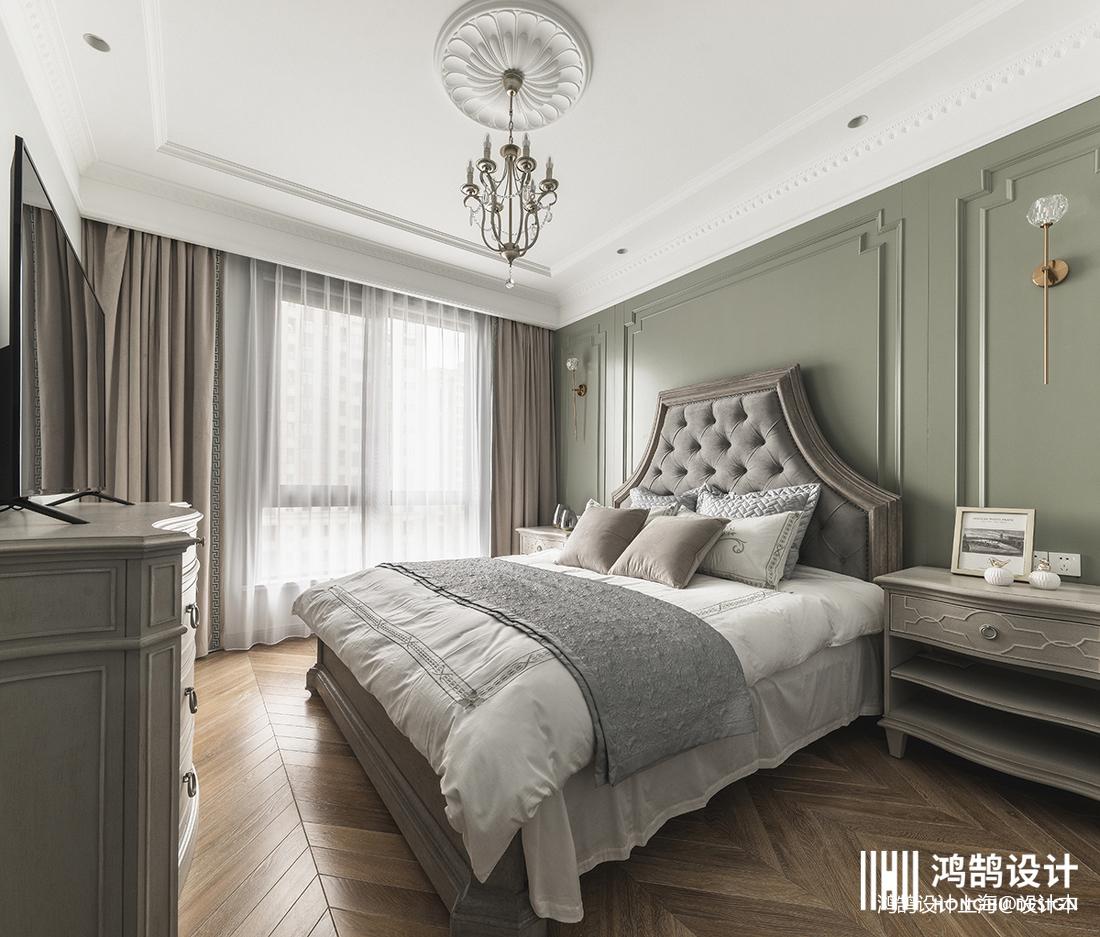 华丽136平法式四居卧室装修案例