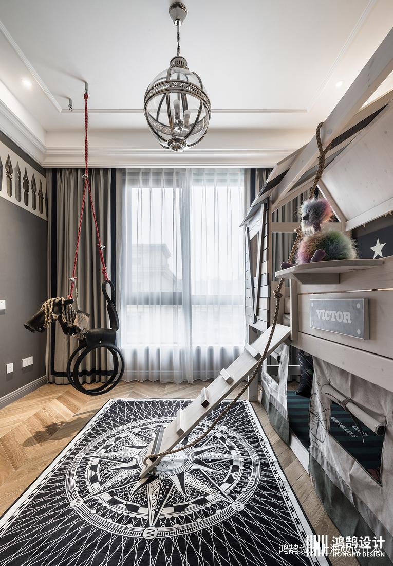 2019157平法式四居儿童房设计图