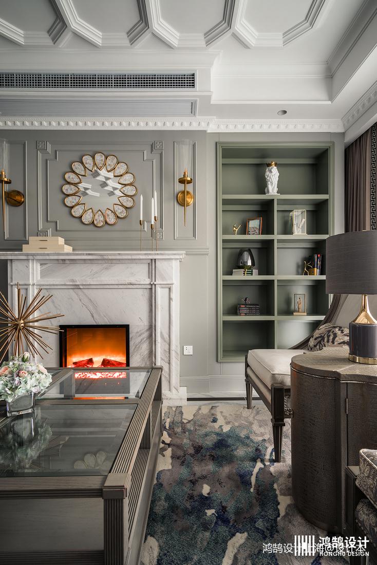 优美153平法式四居客厅图片欣赏