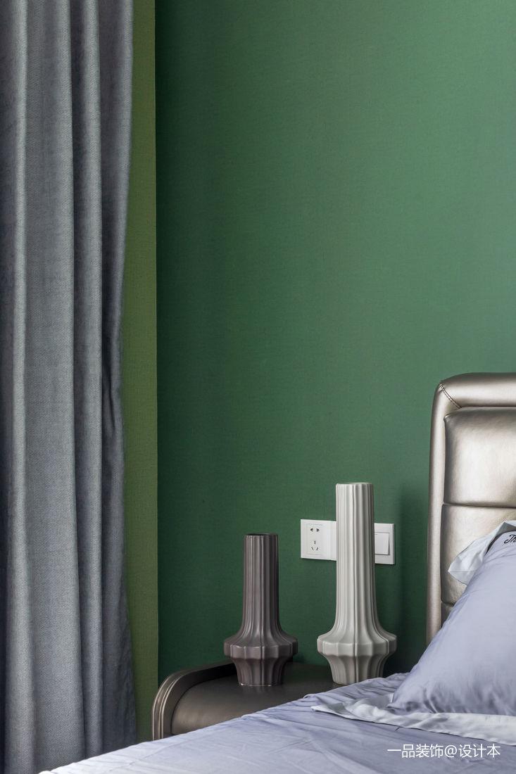質樸110平歐式三居臥室裝飾圖片