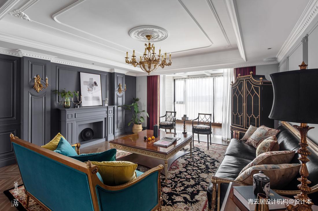 精美150平法式四居客厅装修效果图