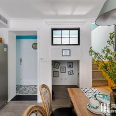 浪漫90平美式二居客厅效果图片大全