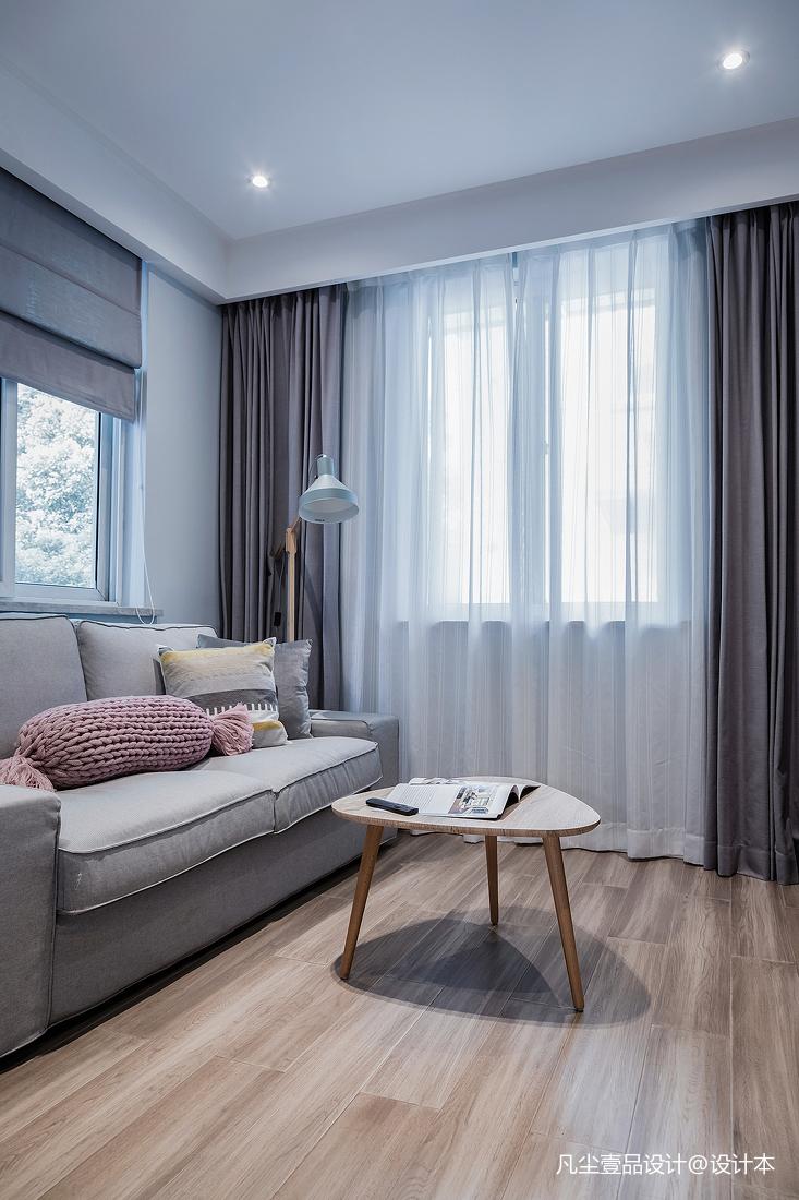 优美39平简约小户型客厅设计图