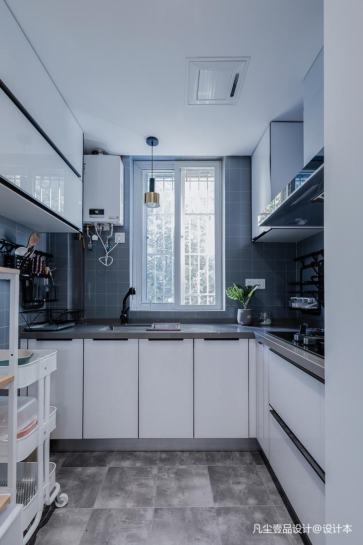 温馨37平简约小户型厨房装修图片