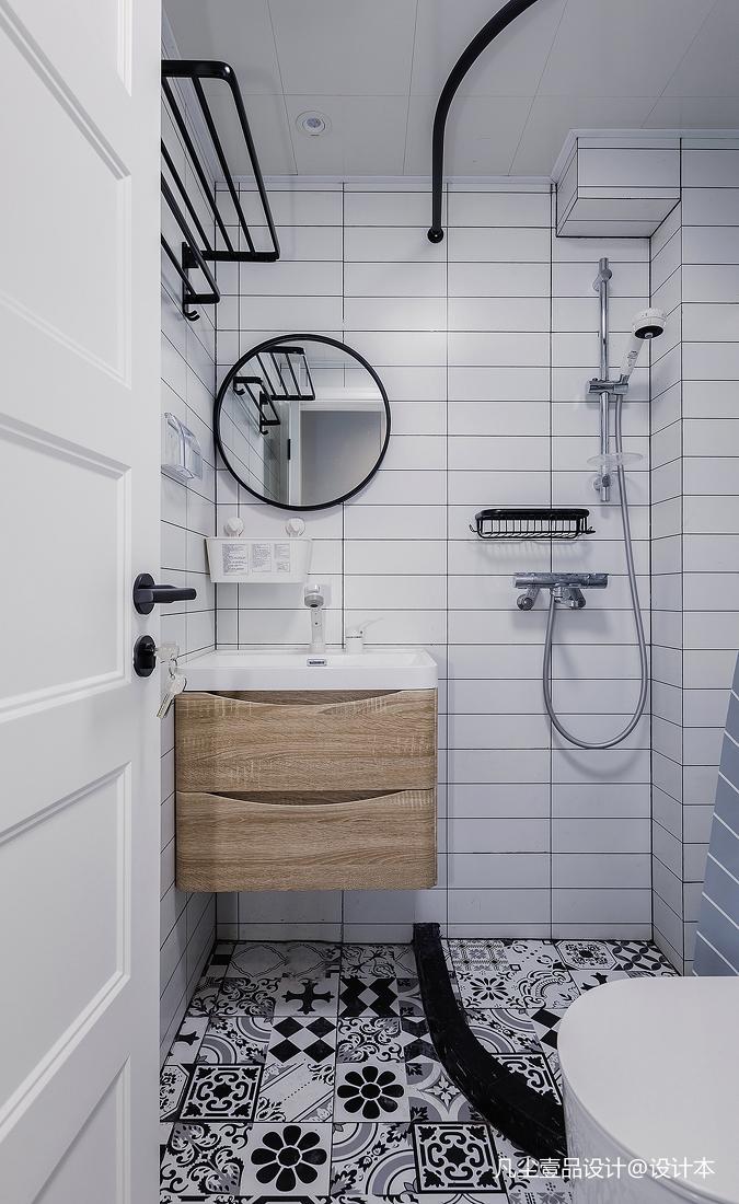 华丽27平简约小户型卫生间设计美图