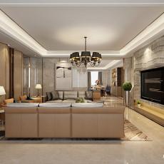 客厅大理石地板