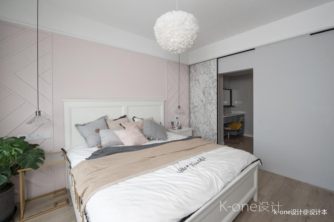 精美116平北欧四居卧室设计效果图