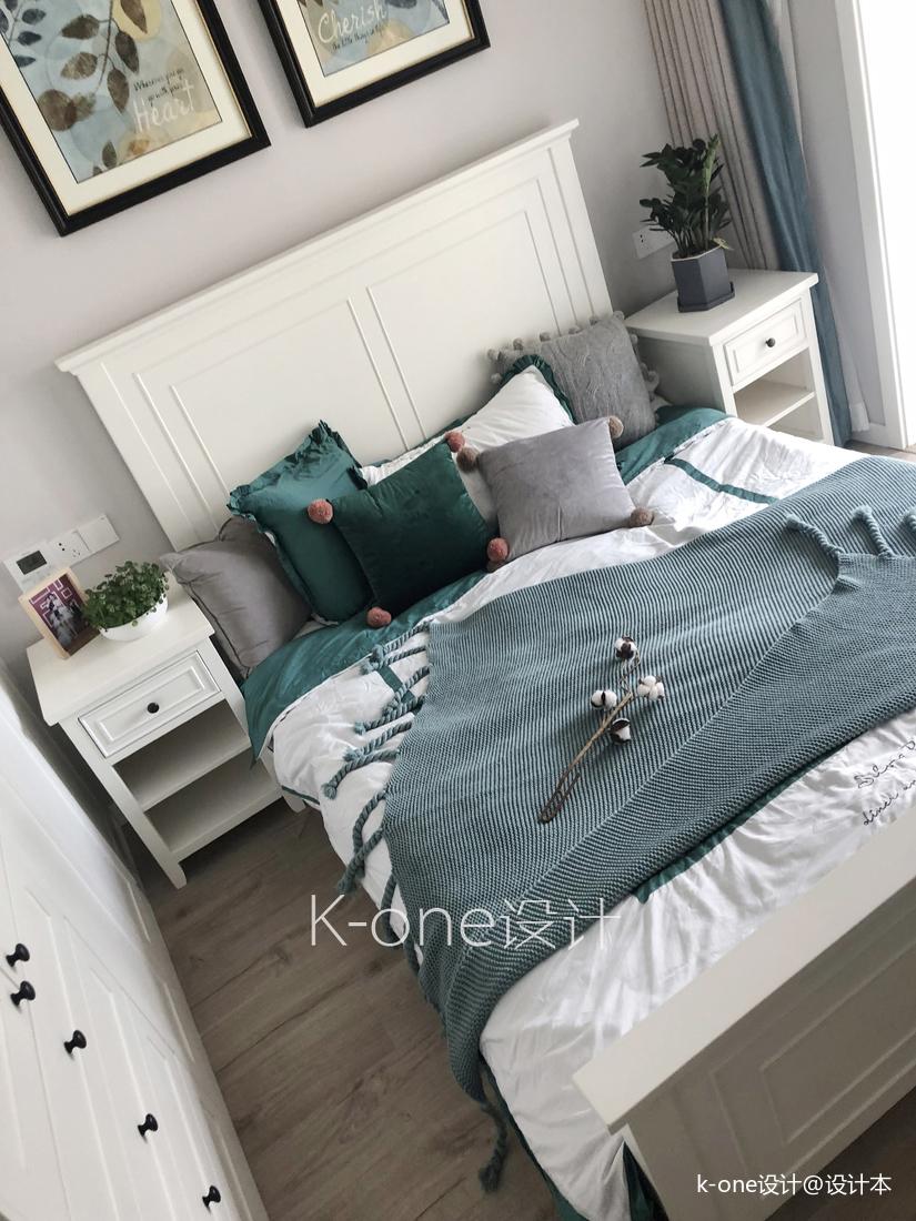 典雅150平北欧四居卧室图片大全