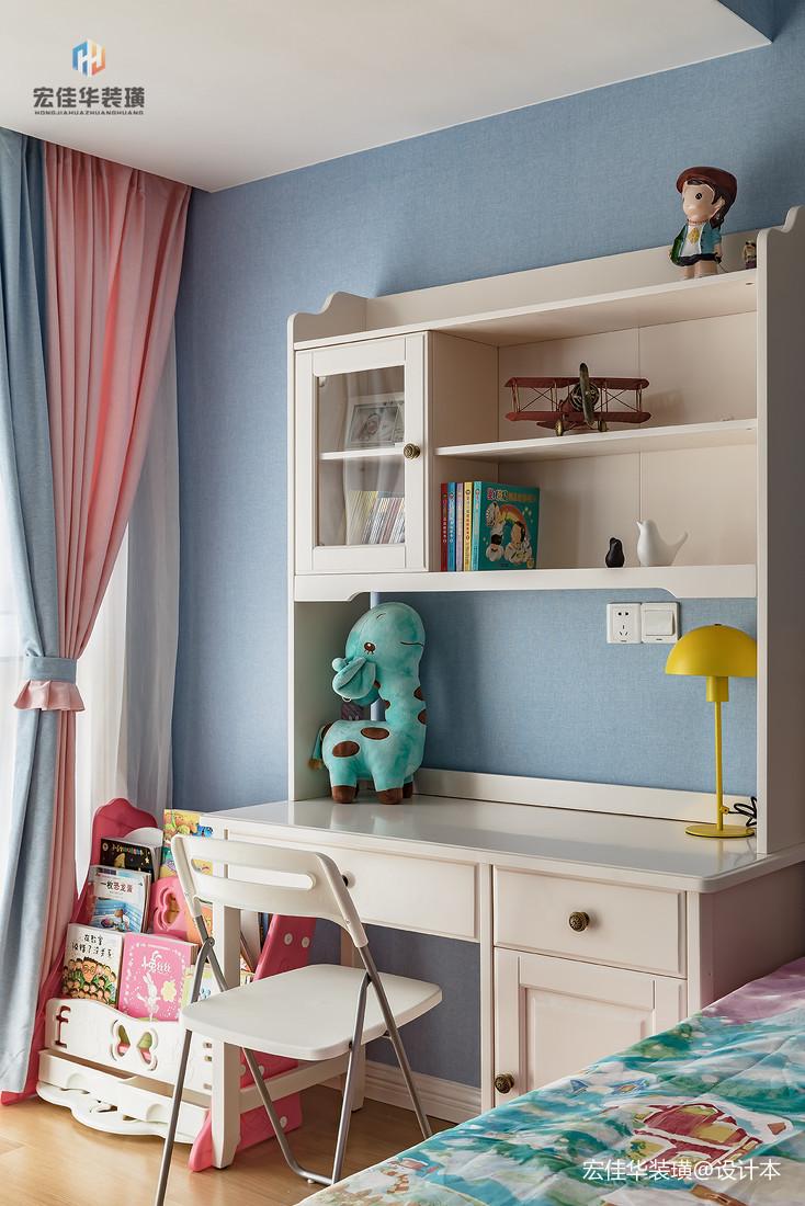 明亮119平现代三居儿童房效果图欣赏