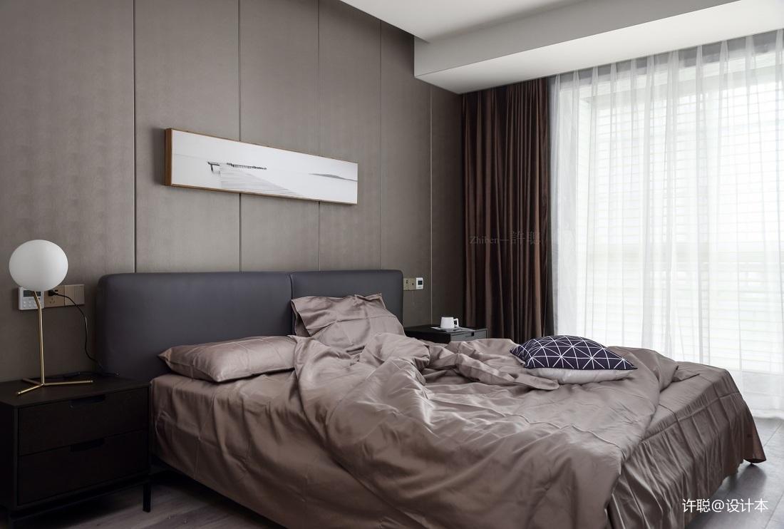 华丽80平现代三居卧室设计美图