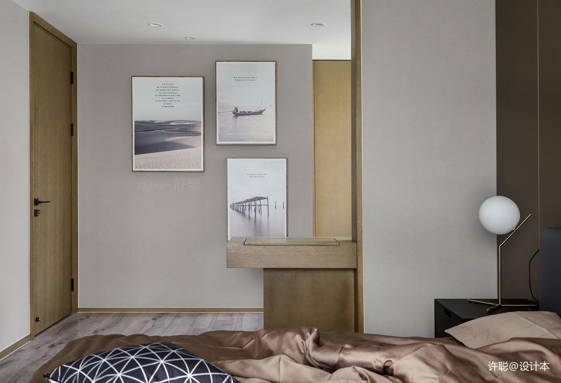优美91平现代三居卧室装修美图