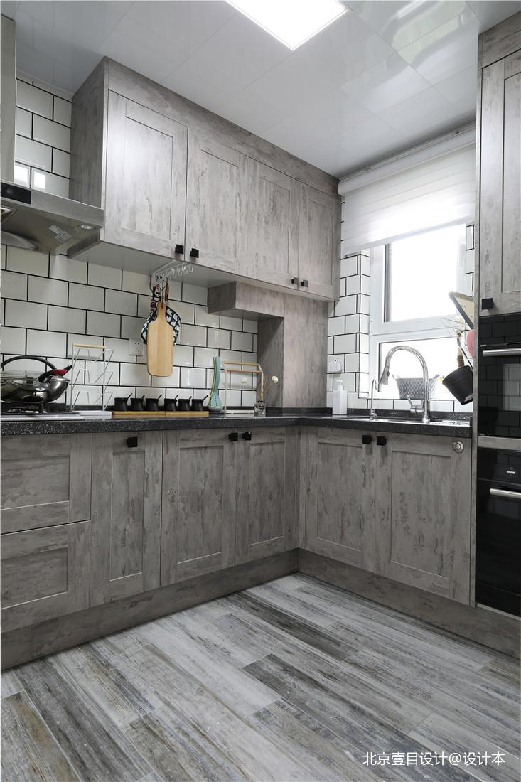典雅78平北欧三居厨房装修效果图