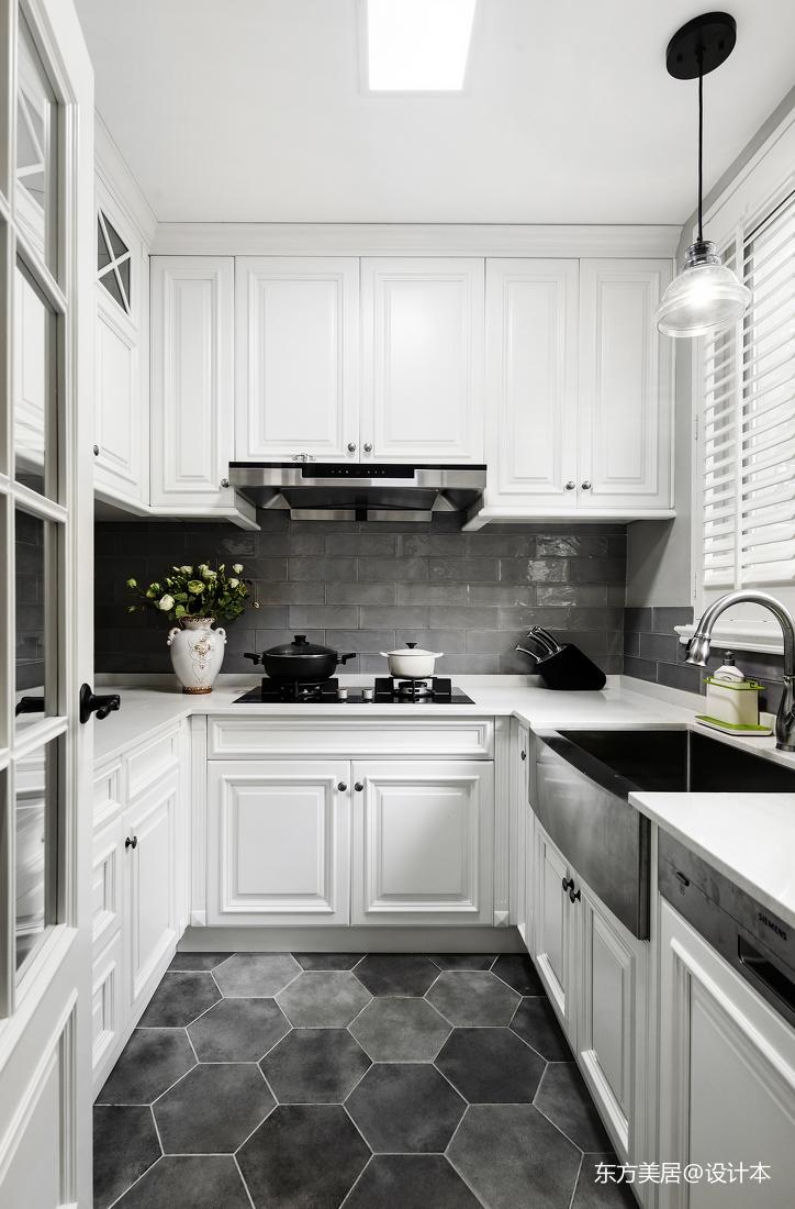 大气711平美式别墅厨房设计案例