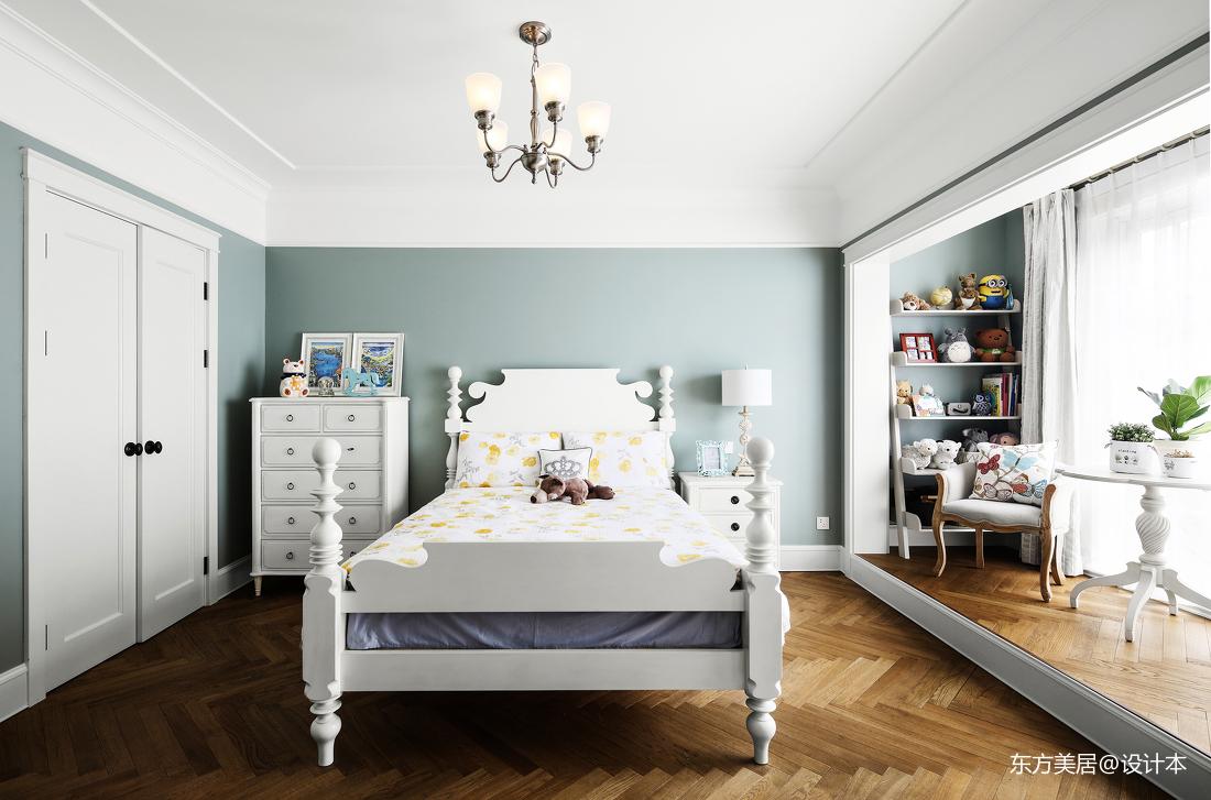 质朴916平美式别墅儿童房装修图