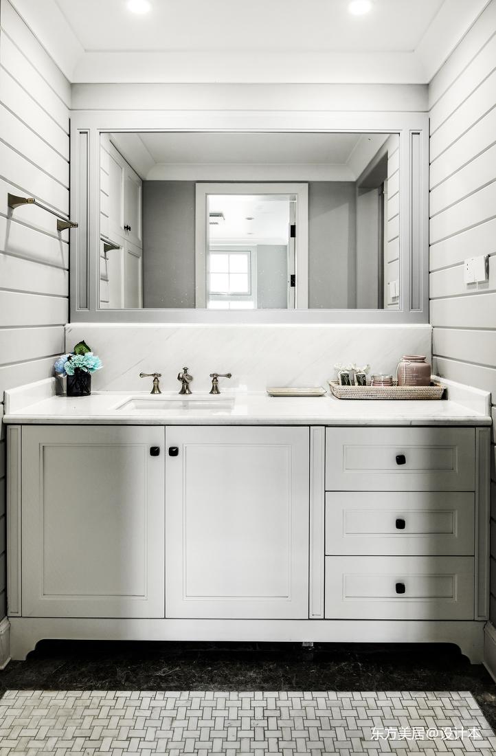 优美536平美式别墅卫生间实景图片