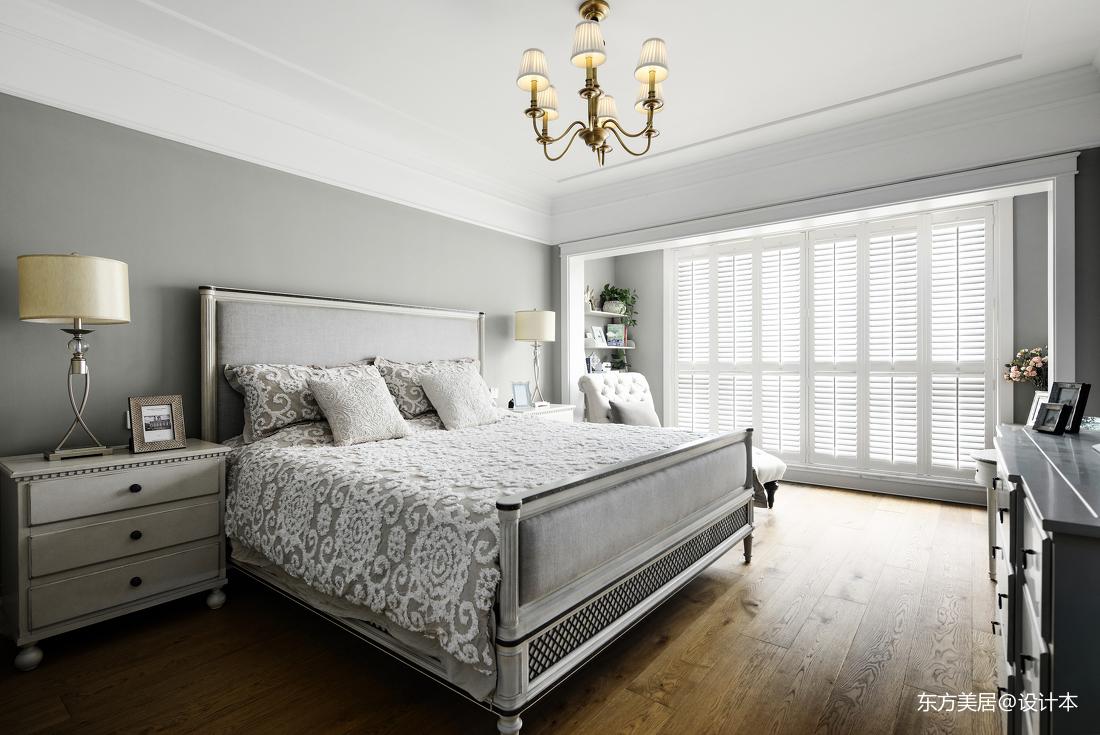 温馨991平美式别墅卧室设计图
