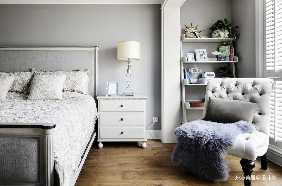 悠雅444平美式别墅卧室设计美图