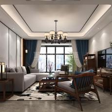 新中式客厅装修风格