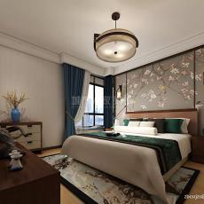新中式卧室吊顶图