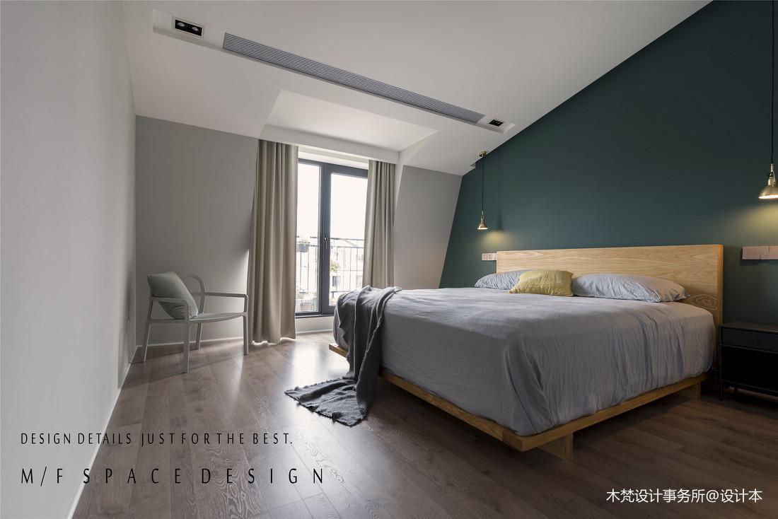 质朴72平简约三居卧室美图