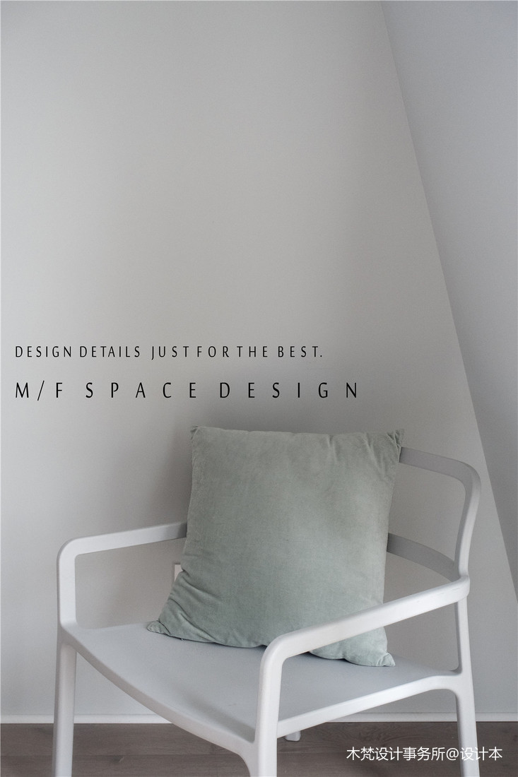 质朴105平简约三居卧室设计效果图