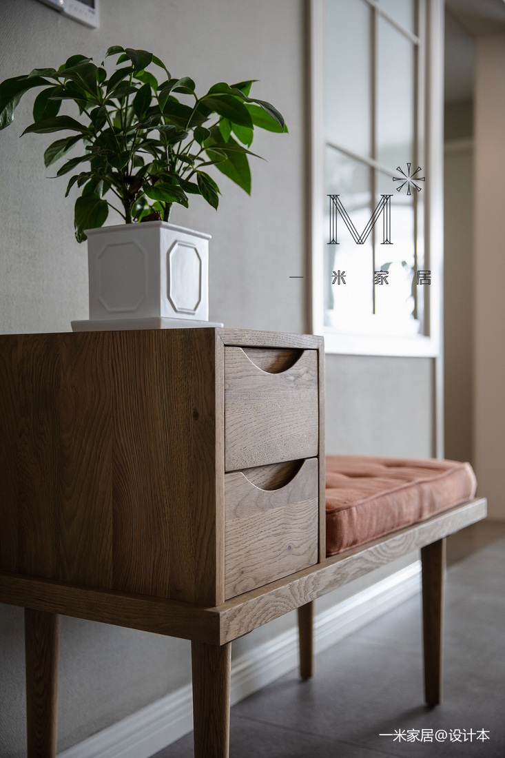 优雅71平美式二居客厅装潢图