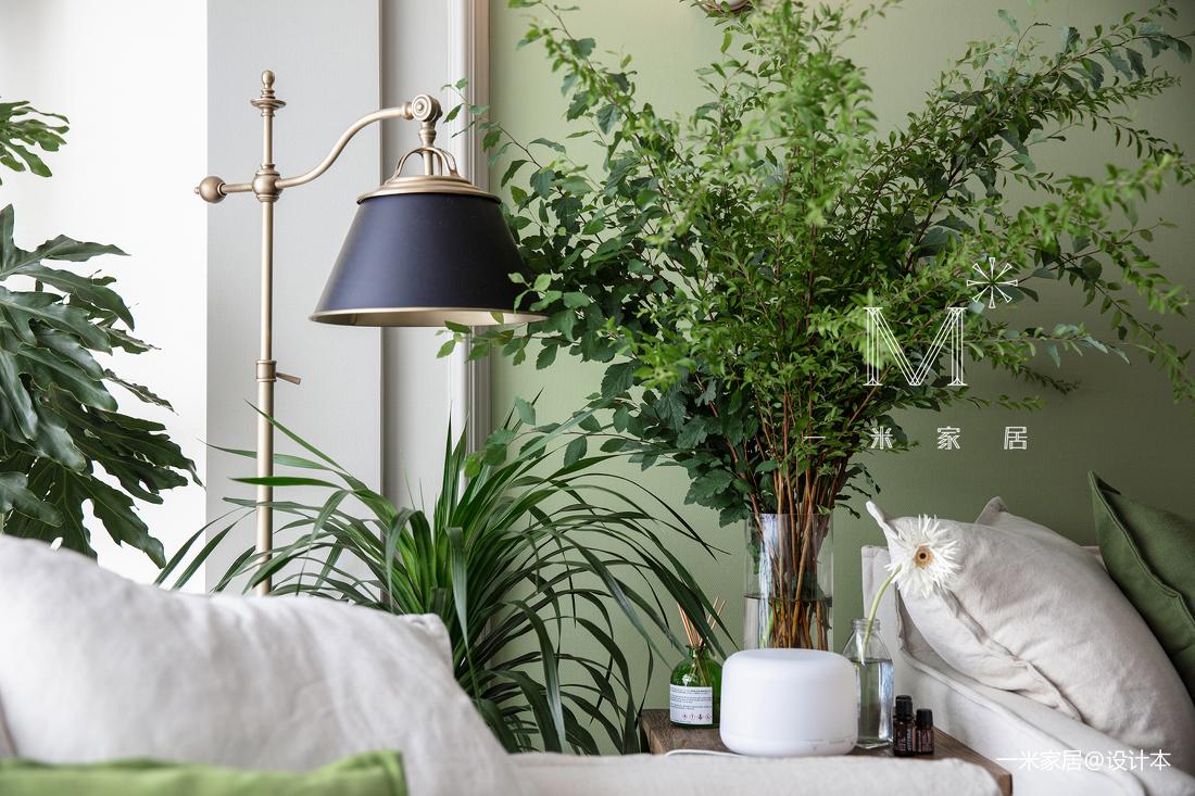201960平美式二居客厅装潢图