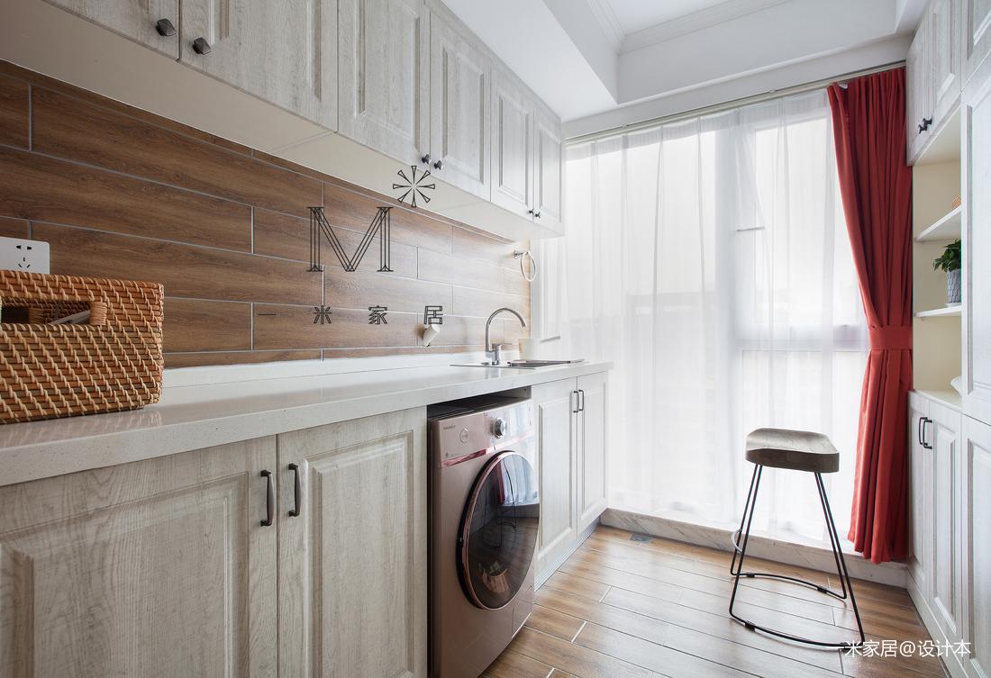 质朴65平美式二居客厅设计美图