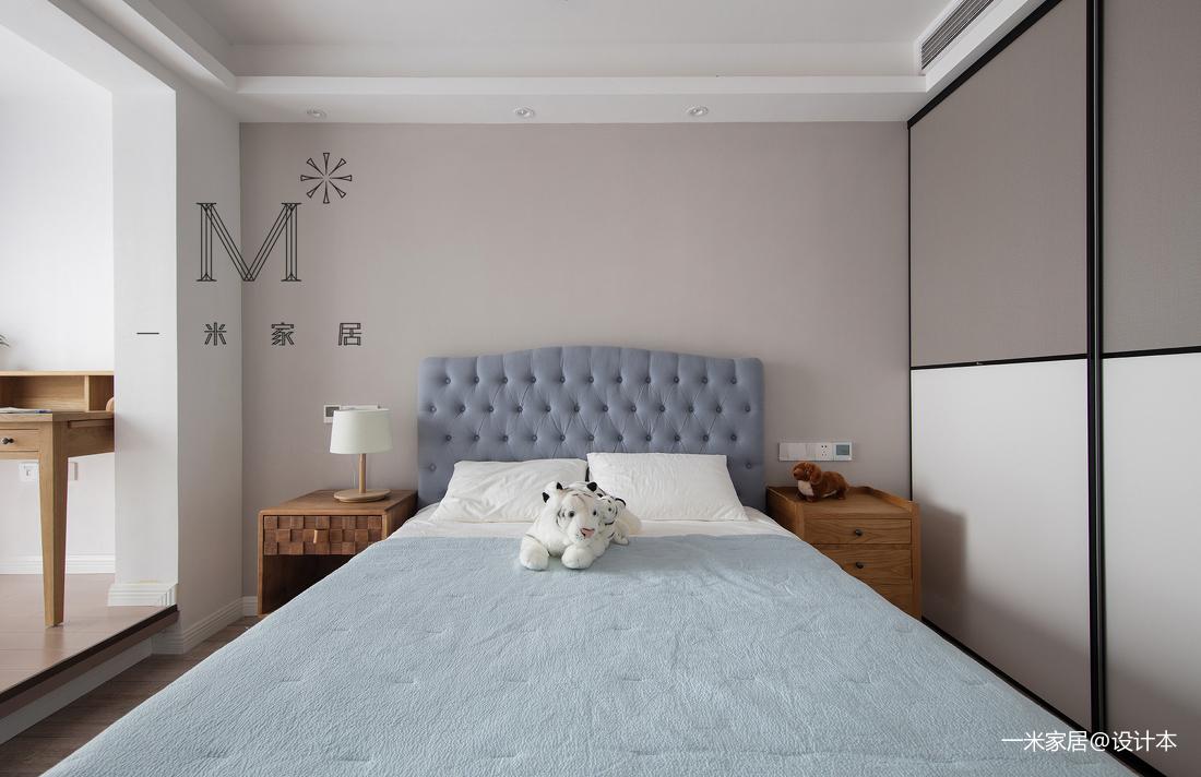 浪漫72平美式二居卧室美图