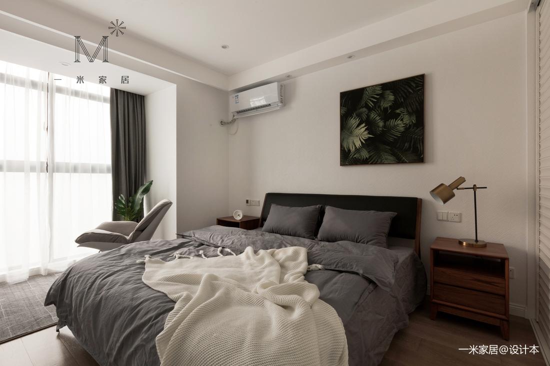 浪漫80平北欧二居卧室图片欣赏