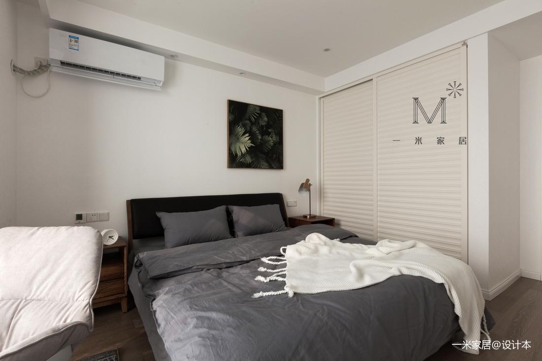 优美78平北欧二居卧室装饰美图