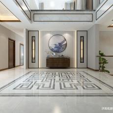 中式玄关背景