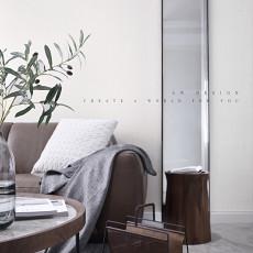 温馨119平现代三居客厅设计图