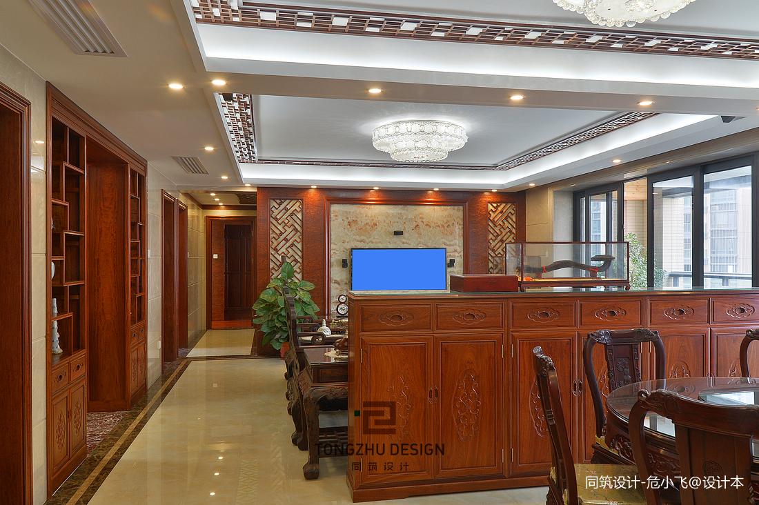 中式客廳家具擺放